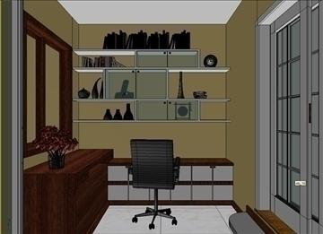 living room 48 3d model max 98623