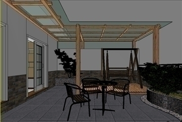 living room 49 3d model max 98627