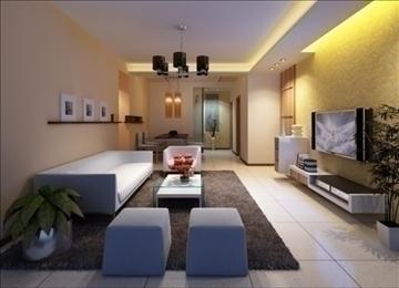 living room 50 3d model max 98628
