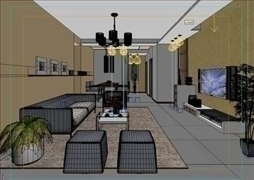 living room 50 3d model max 98629
