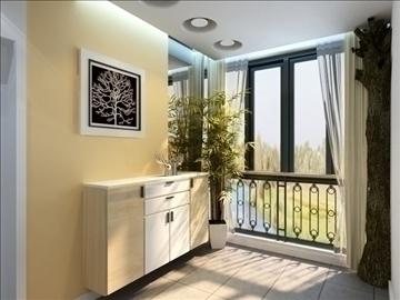 living room 51 3d model max 98630