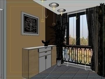 living room 51 3d model max 98631