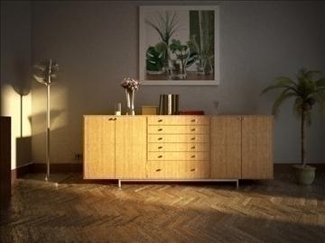 living room 52 3d model max 98632