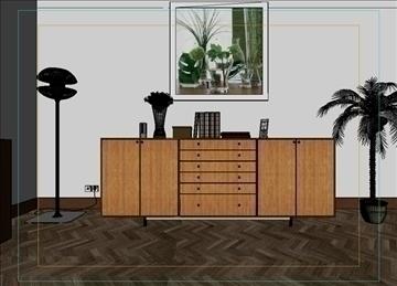 living room 52 3d model max 98633