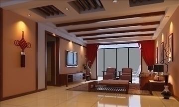 living room 53 3d model max 98634