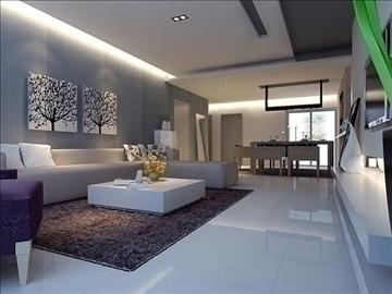 living room 54 3d model max 98640