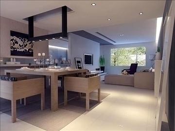 living room 54 3d model max 98641