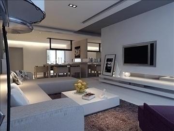 living room 54 3d model max 98642