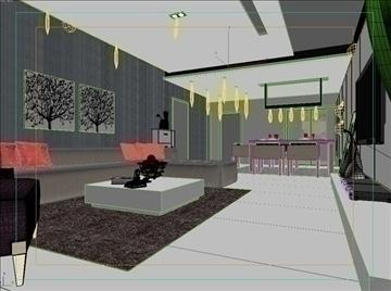 living room 54 3d model max 98643