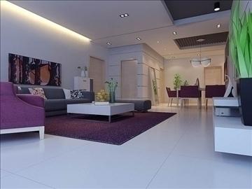 living room 55 3d model max 98646