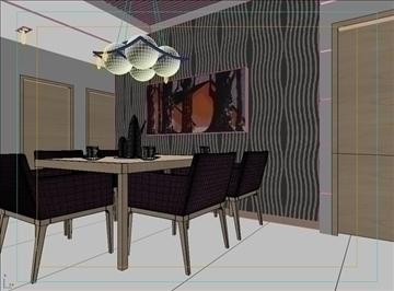 living room 55 3d model max 98651