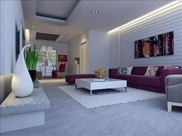 living room 56 3d model max 98709