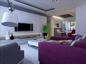 living room 56 3d model max 98710