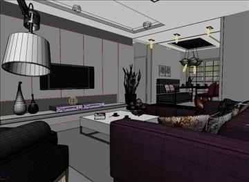 living room 56 3d model max 98714
