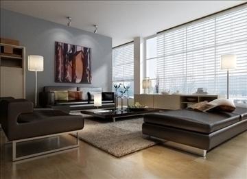 living room 57 3d model max 98715