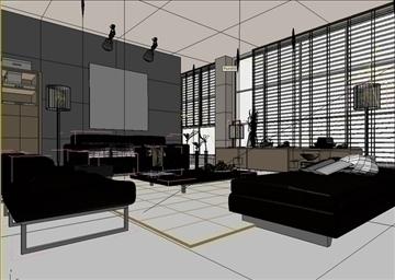 living room 57 3d model max 98716