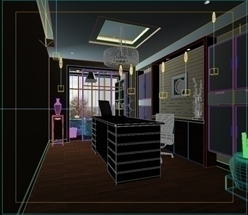 living room 59 3d model max 98720