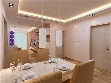 living room 61 3d model max 98747