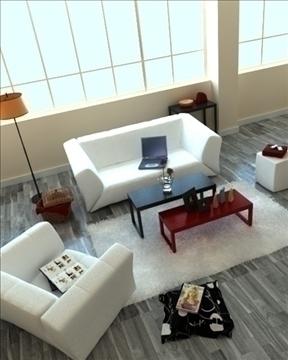 living room 73 3d model max 99010
