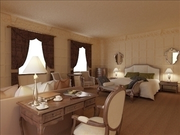 living room 75 3d model max 99014
