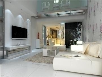 living room 76 3d model max 99455