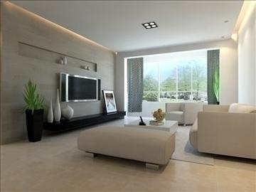 living room 78 3d model max 99824
