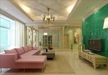 living room 79 3d model max 99827