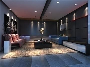 living room 83 3d model max 104983