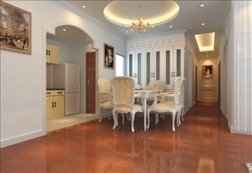living room 84 3d model max 104986