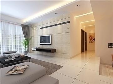 living room 86 3d model max 104998