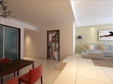 living room 86 3d model max 105000