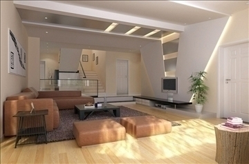living room004 3d model 3ds max 83548