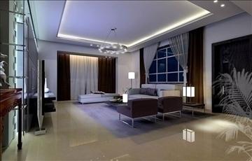 living room011 3d model 3ds max 83631