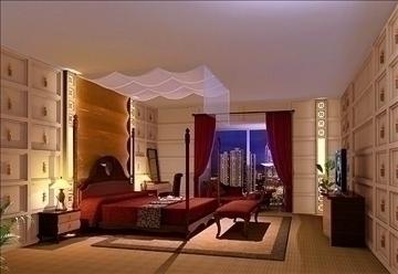 living room016 3d model 3ds max 83643