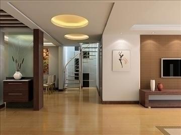 living room019 3d model 3ds max 83650