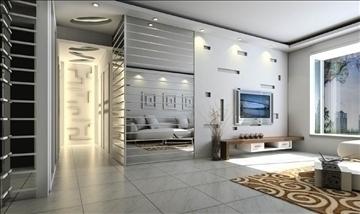 living room041 3d model 3ds max 83734