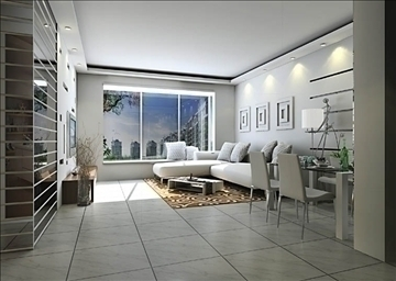 living room041 3d model 3ds max 83735