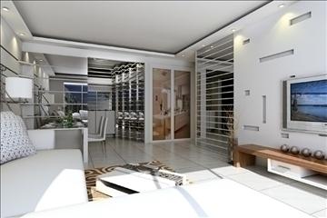 living room041 3d model 3ds max 83737