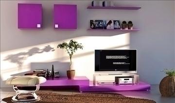 living room049 3d model 3ds max 83796
