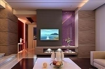 living room052 3d model 3ds max 83855