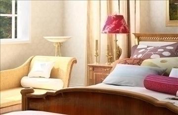 living room072 3d model 3ds max 83897
