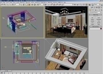 living room072 3d model 3ds max 83898