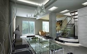 living room076 3d model 3ds max 83906