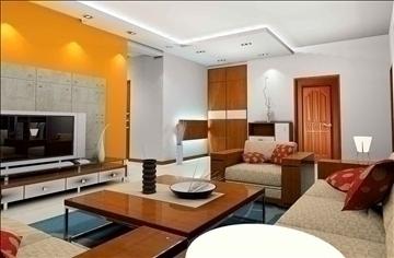living room078 3d model 3ds max 83913