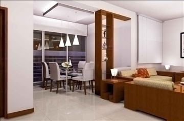 living room078 3d model 3ds max 83915