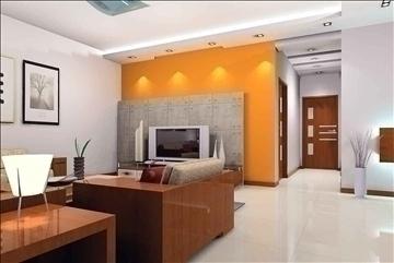living room078 3d model 3ds max 83916