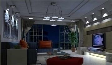 living room085 3d model 3ds max 83930