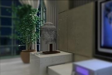living room085 3d model 3ds max 83932