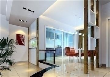 living room143 3d model 3ds max 84240