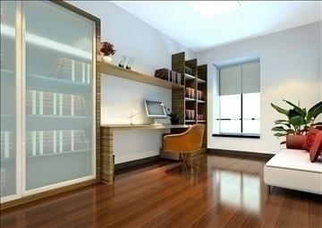 living room143 3d model 3ds max 84241